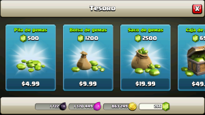 Gemas gratis clash of clans